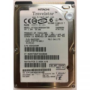 """372775-001 - HP 60GB 5400 RPM IDE 2.5"""" HDD"""