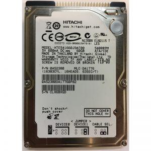 """0A52380 - Hitachi 60GB 5400 RPM IDE 2.5"""" HDD"""