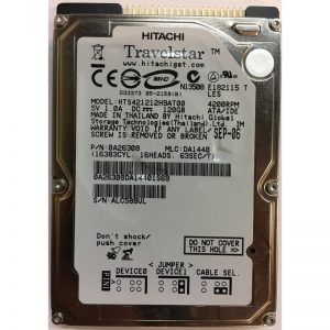 "0A26308 - Hitachi 120GB 4200 RPM IDE 2.5"" HDD"