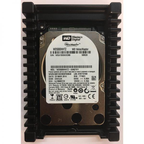 """WD5000HHTZ-04N21V1 - Western Digital 500GB 10K  RPM SATA 3.5"""" HDD"""