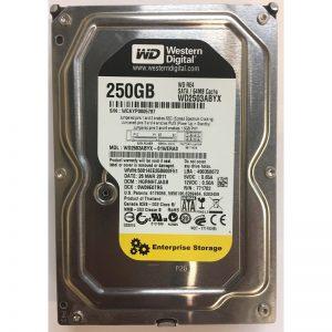 """WD2503ABYX-01WERA0 - Western Digital 250GB 7200 RPM SATA 3.5"""" HDD"""