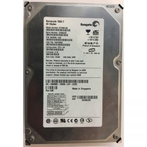 "N0806 - Dell 40GB 7200 RPM IDE 3.5"" HDD"