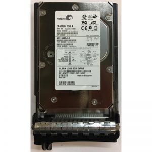 "ST373307LSUN72G - Sun 73GB 10K  RPM SCSI 3.5"" HDD U320 80 pin with tray"