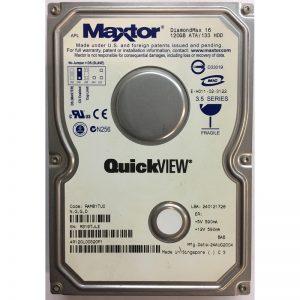"""4R120L00320P1 - Maxtor 120GB 7200 RPM IDE 3.5"""" HDD"""