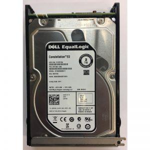 "02P4N9 - Equallogic 2TB 7200 RPM SATA 3.5"" HDD w/ tray for 6500E"