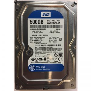 "0B58214 - Lenovo 500GB 7200 RPM SATA 3.5"" HDD"