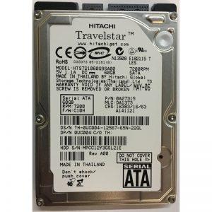 "0A27315 - Hitachi 60GB 7200 RPM SATA 2.5"" HDD"