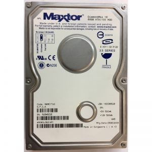 """4R080L06214P1 - Maxtor 80GB 5400 RPM IDE 3.5"""" HDD"""