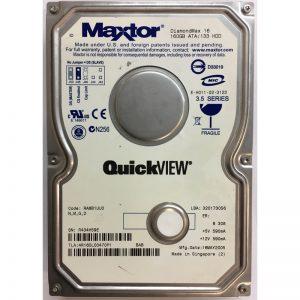 """4R160L00470P1 - Maxtor 160GB 5400 RPM IDE 3.5"""" HDD"""