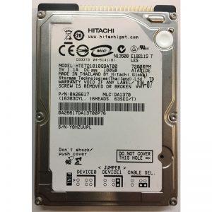 "0A26617 - Hitachi 100GB 7200 RPM SATA 2.5"" HDD"