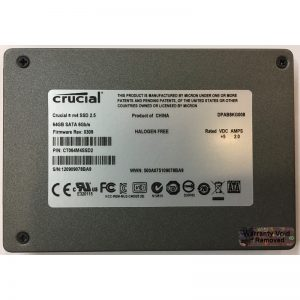 "CT064M4SSD2 - Crucial 64GB SSD SATA 2.5"" HDD"