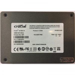 "CT128M4SSD2 - Crucial 128GB SSD SATA 2.5"" HDD"