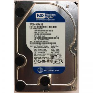 """5189-2868 - Western Digital 640GB 7200 RPM SATA 3.5"""" HDD"""