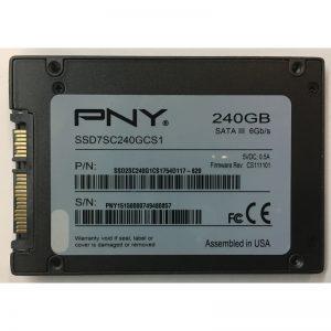 """SSD7SC240GCS1 - PNY 240GB SSD SATA 2.5"""" HDD"""