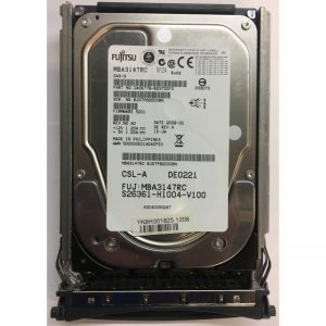 """MBA3147RC - Fujitsu/ Siemans 146GB 15K  RPM SAS 3.5"""" HDD w/tray"""