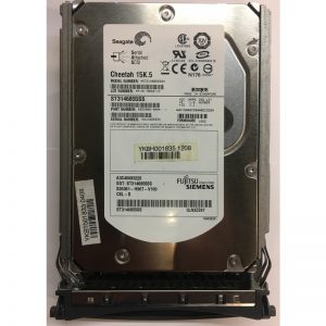 "A3C40083229 - Fujitsu/Siemens 146GB 15K  RPM SAS 3.5"" HDD w/ tray"