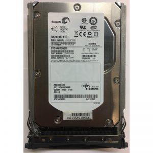 "A3C40084790 - Fujitsu/Siemens 146GB 10K  RPM SAS 3.5"" HDD w/ tray"