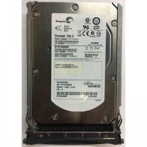 "A3C40083228 - Fujitsu/Siemens 73GB 15K  RPM SAS 3.5"" HDD w/ tray"