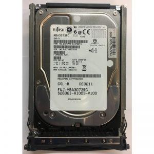 """S26361-H1003-V100 - Fujitsu/Siemens 73GB 15K  RPM SAS 3.5"""" HDD w/ tray"""