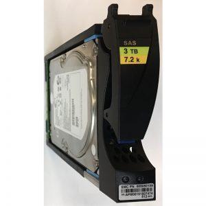 "005050159 - Data Domain 3TB 7200 RPM SAS 3.5"" HDD  for ES30 15 bay enclosure"
