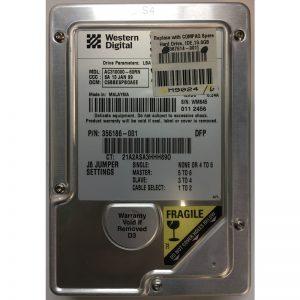 """356186-001 - Western Digital 10GB 5400 RPM IDE 3.5"""" HDD"""