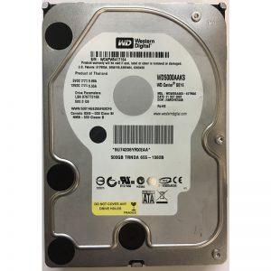 """655-1360B - Western Digital 500GB 7200 RPM SATA 3.5"""" HDD"""