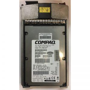 """104663-001 - Compaq 18GB 7200 RPM SCSI 3.5"""" HDD 80 pin w/ tray"""