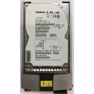 "104923-001 - Compaq 9.1GB 7200 RPM SCSI 3.5"" HDD 80 pin"