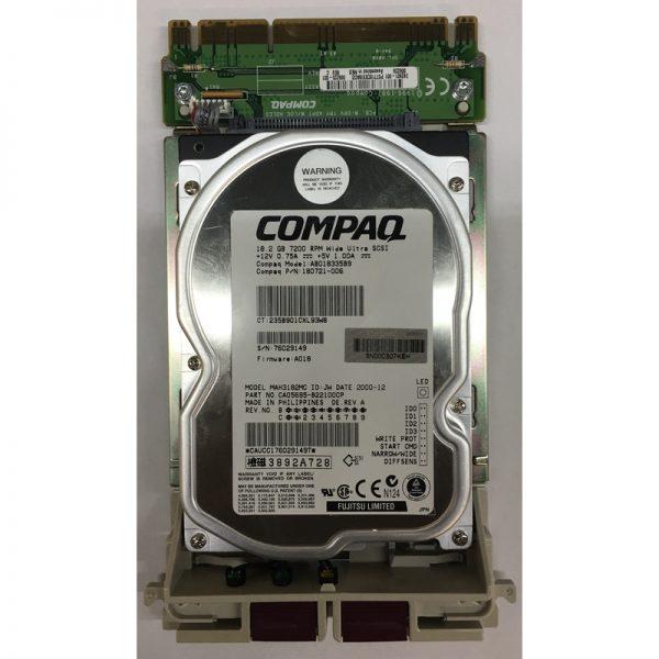 """180721-006 - Compaq 18GB 7200 RPM SCSI 3.5"""" HDD 80 pin"""
