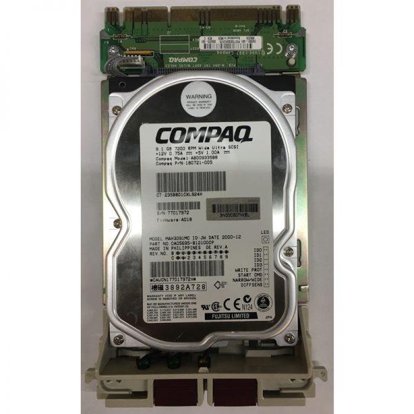 """313711-001 - Compaq 9.1GB 7200 RPM SCSI 3.5"""" HDD 80 pin"""