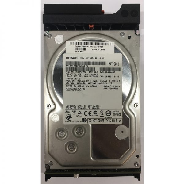 """4CF1W - Dell 2TB 7200 RPM SATA 3.5"""" HDD for AX4-5F/ 5i series"""