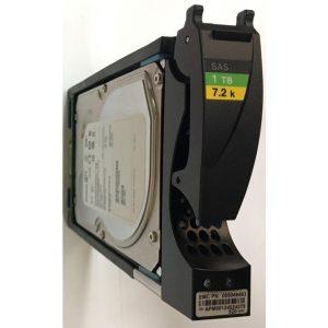 "005049493 - EMC 1TB 7200 RPM SAS 3.5"" HDD  for VNX5100, 5300,5500,5700,7500, VNXe3300"