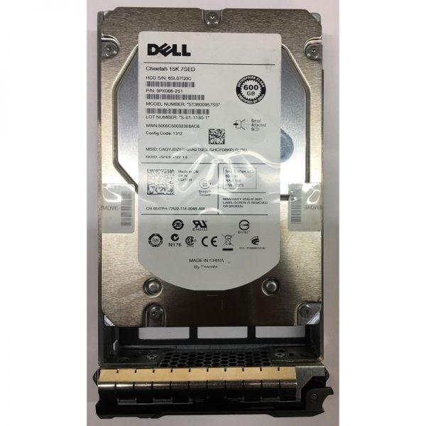 """5XTFH - Dell 600GB 15K  RPM SAS 3.5"""" HDD SED"""