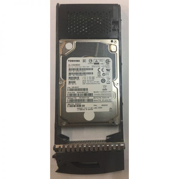 """AL13SEB600 - NetApp 600GB 10K  RPM SAS 2.5"""" HDD for DS2246/ FAS2240/ FAS2552"""